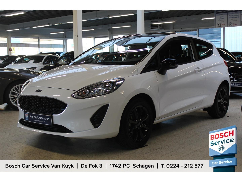 Ford Fiesta 1.1 70pk 3d black & white airco / cruise / lm velgen /