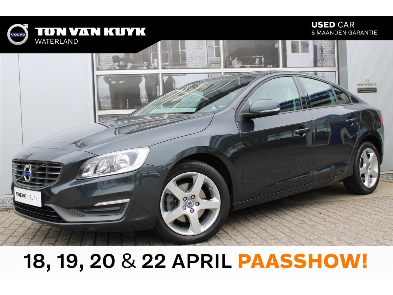 Volvo S60 D2 115pk kinetic / navi / cruise / pdc / 17 inch