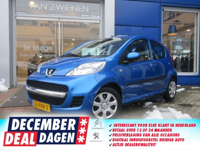 Peugeot 107 5drs - airco - cpv - radio cd