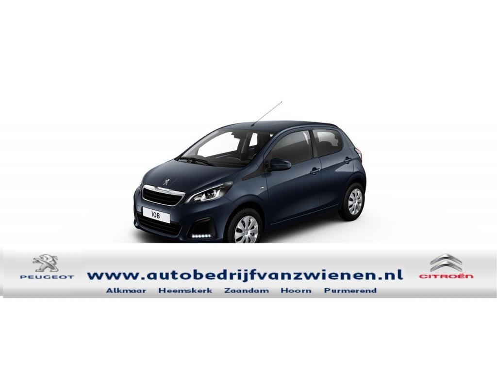 Peugeot 108 Peugeot 108 1.0 12v e-vti 68pk 5dr active pack premium