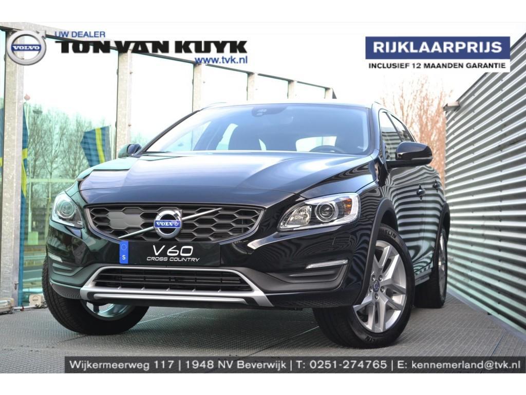 Volvo V60 D3 cross country 150pk nordic+ geartronic nav tel