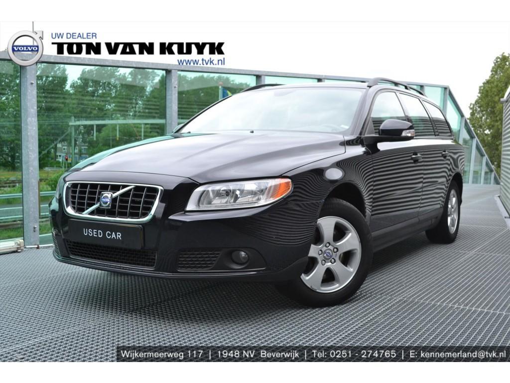 Volvo V70 2.4 d 120kw aut kinetic / leder / roofrails / trekhaak