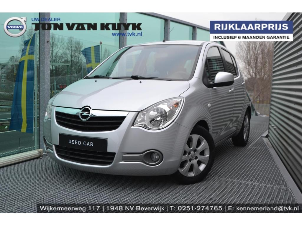 Opel Agila 1.2 16v 63kw aut enjoy / airco / lmv / volledige historie