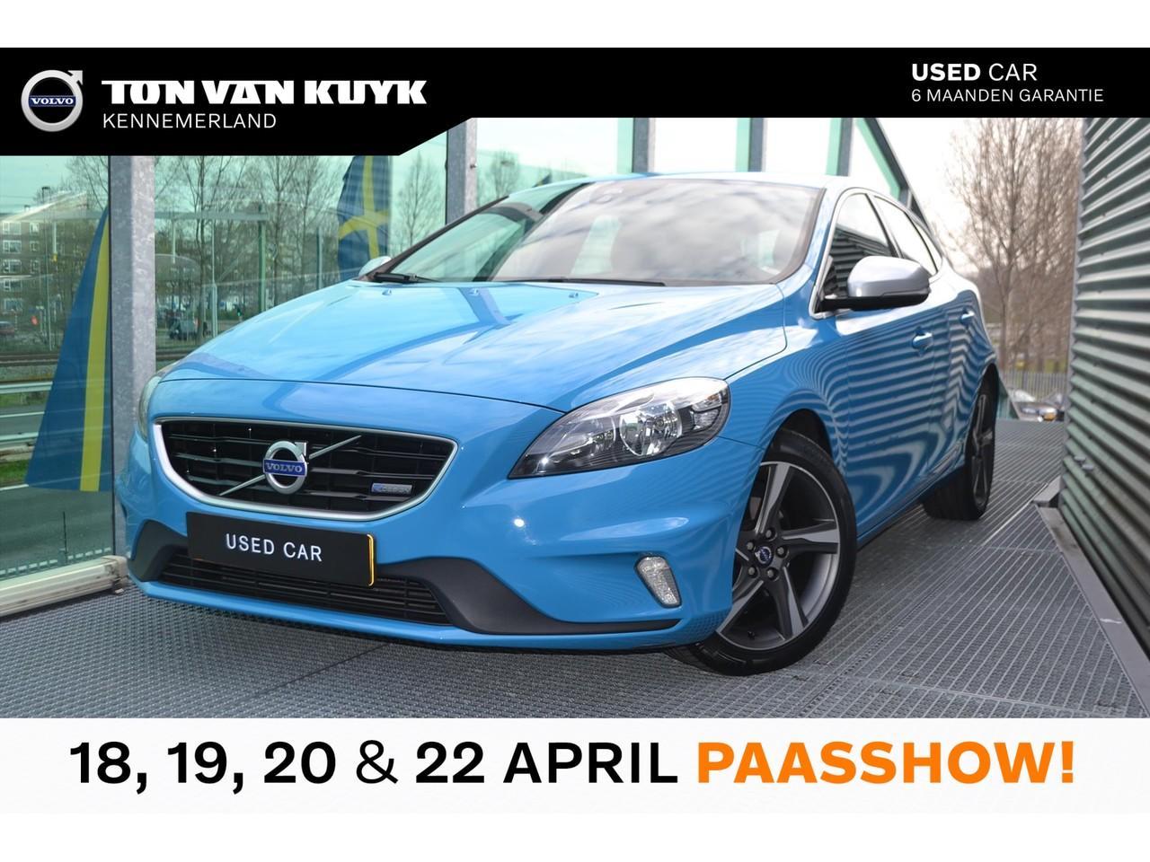 "Volvo V40 1.6 d2 115pk r-design / navigatie / unieke km stand / 17"""