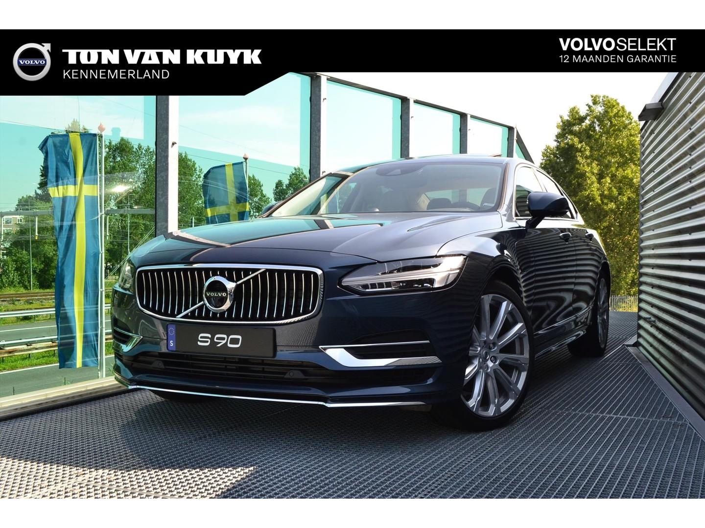 Volvo S90 T8 twin engine 407pk geartronic awd inscription / luxury line/