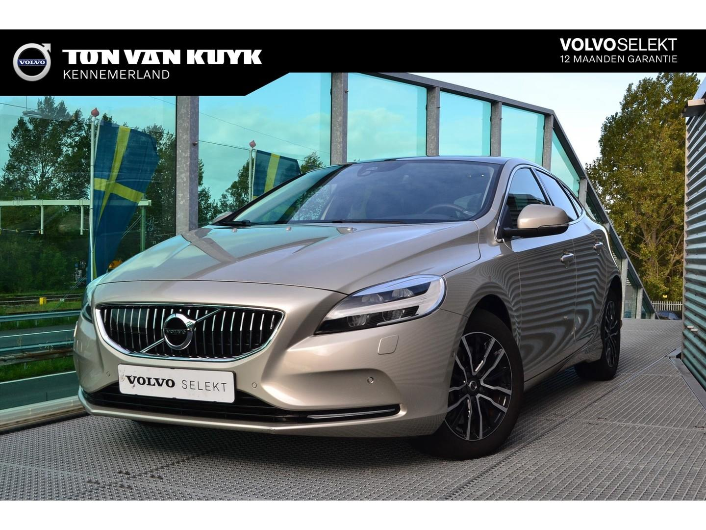 Volvo V40 1.5 t2 122pk geartronic nordic+ luxury / dab / leder /
