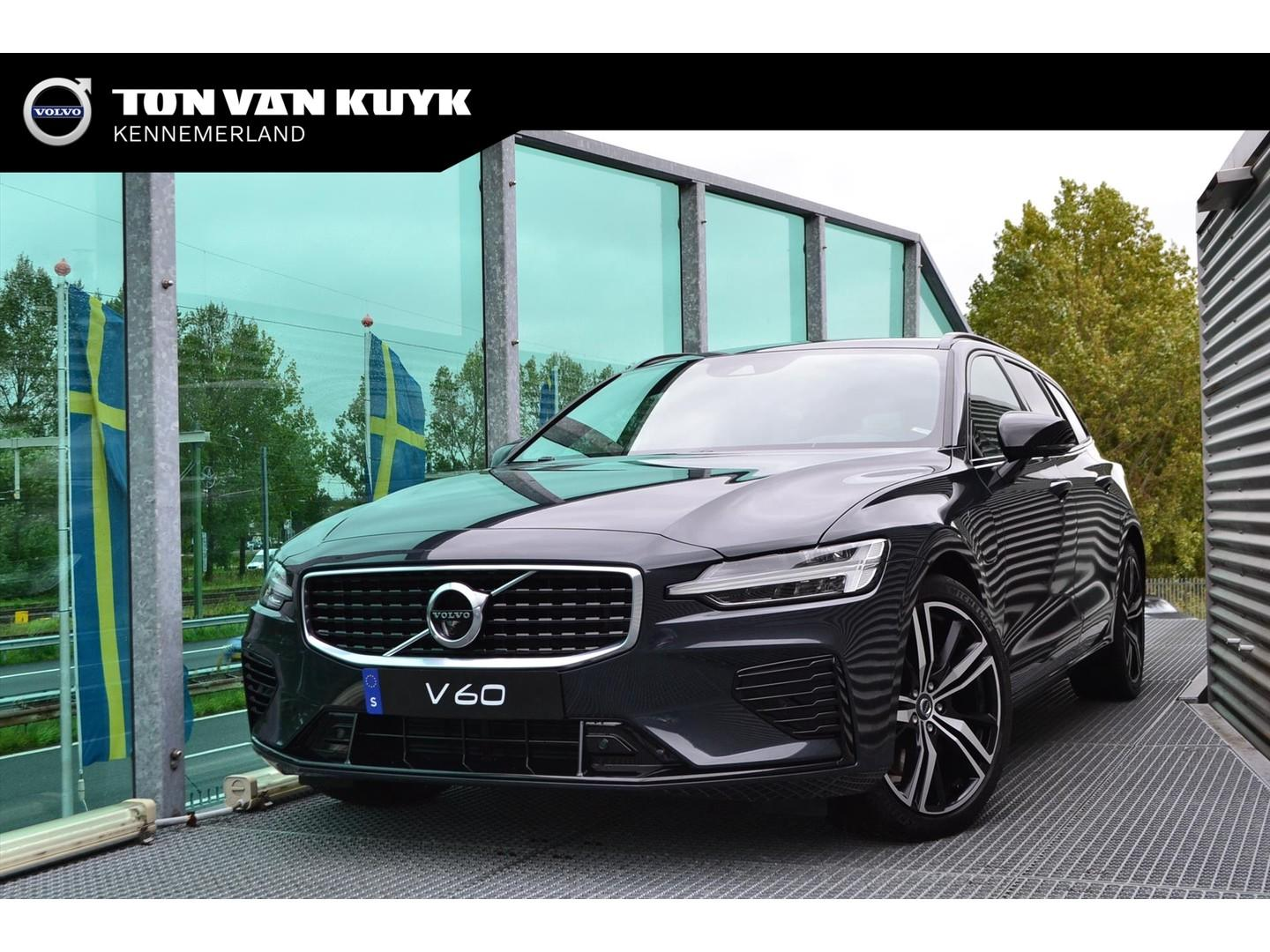 Volvo V60 New twin engine awd t8 r-design / intellisafe / 360 camera / keyl. /