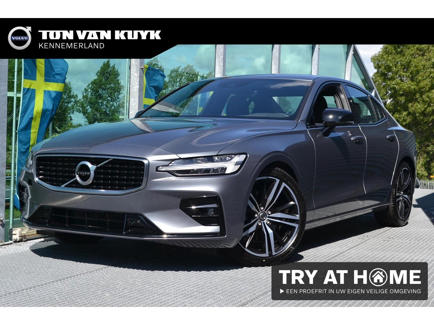 Volvo S60 New t4 190pk geartronic / r-design / osmium grey / 19 inch