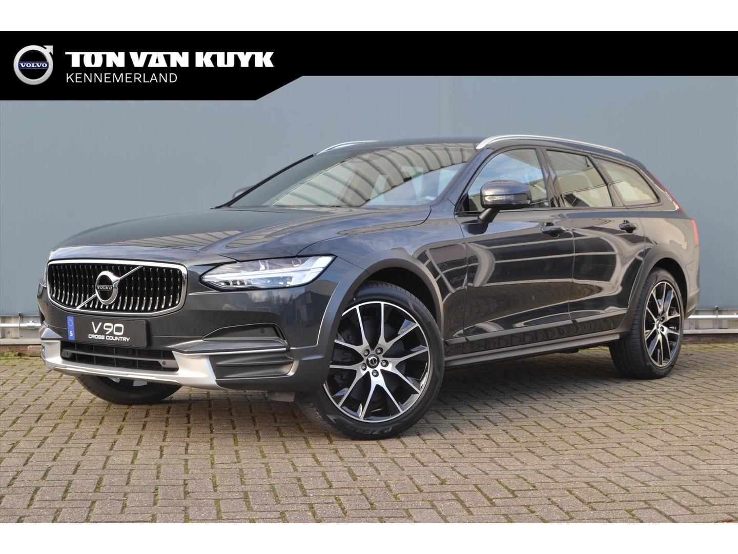 Volvo V90 cross country T5 250pk automaat awd pro/ audio line/ versatility line
