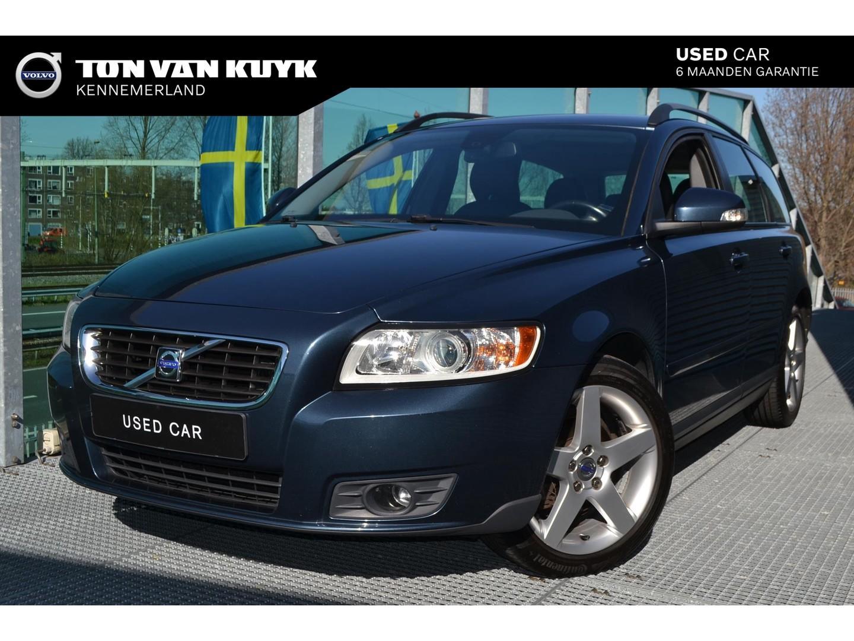 Volvo V50 1.8 sport / rti / leder / roofrails / 17 inch / elektrische bestuurdersstoel