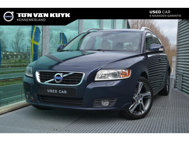 Volvo V50 D2 limited edition / navi / leder /roofrails