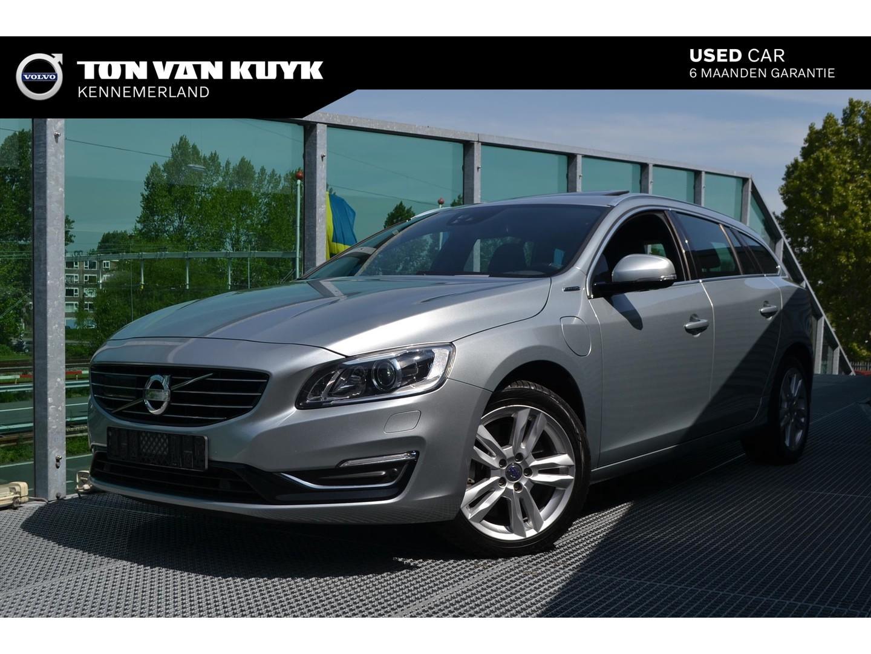Volvo V60 D6 plug-in hybrid geartronic awd summum/adaptive cruise/trekhaak