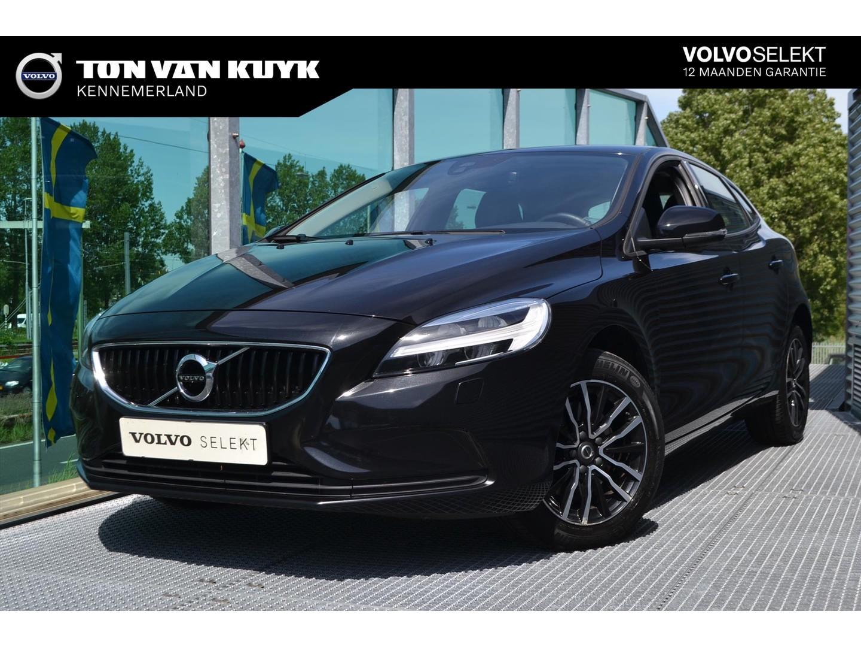 Volvo V40 2.0 t2 122pk nordic+ / parkeerverwarming /led/volvo on call