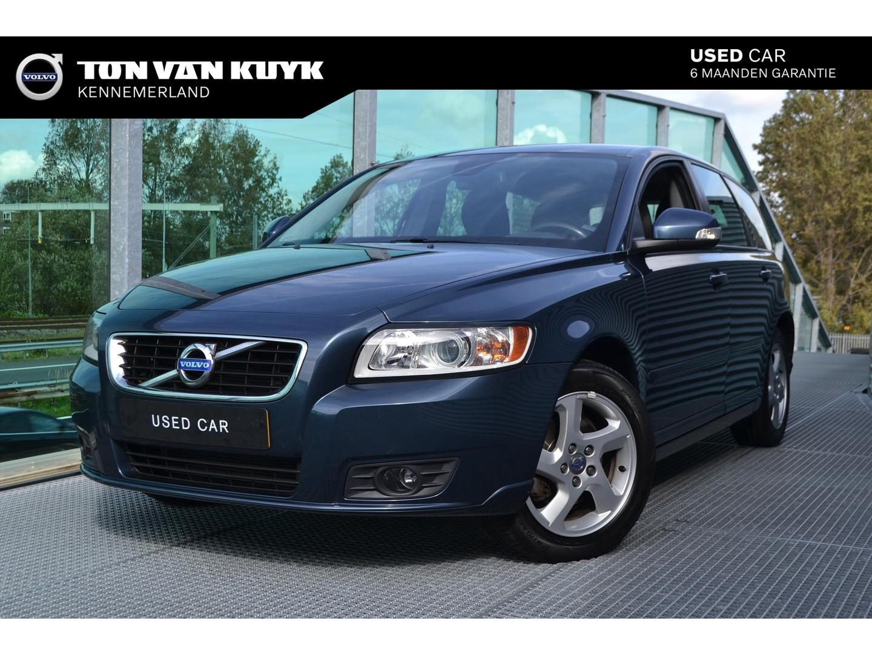 Volvo V50 2.0 sport / rti navigatie / trekhaak / bluetooth / dealer onderhouden