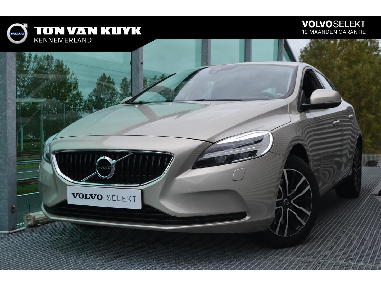 Volvo V40 2.0 t2 122pk nordic+/ parkeerverwarming / full led