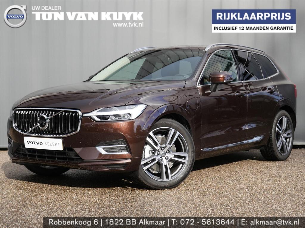 Volvo Xc60 New t8 twin engine 390pk geartronic awd inscription / luchtvering /