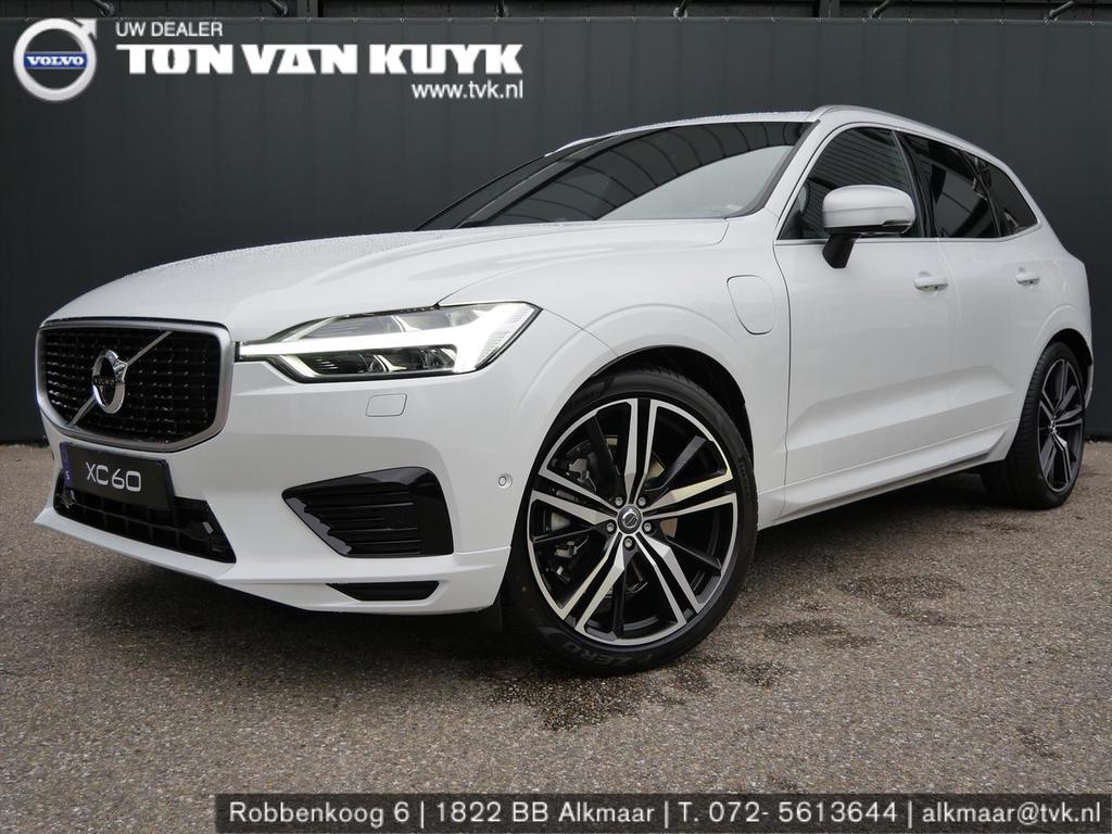 Volvo Xc60 New t8 twin engine 390pk geartronic awd r-design / b&w / luchtvering