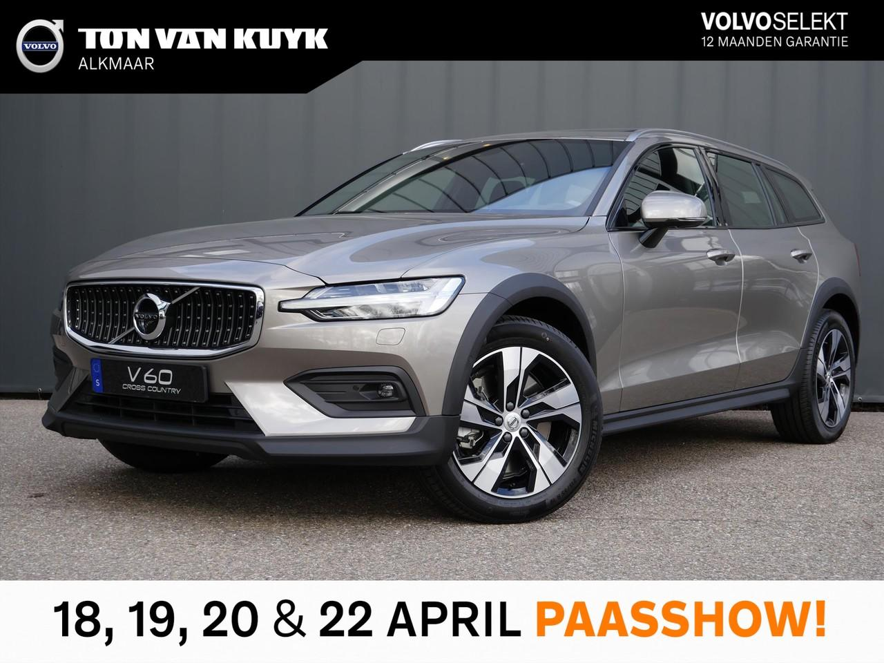 Volvo V60 cross country New d4 190pk awd geartr. intro edition / luxury / audio