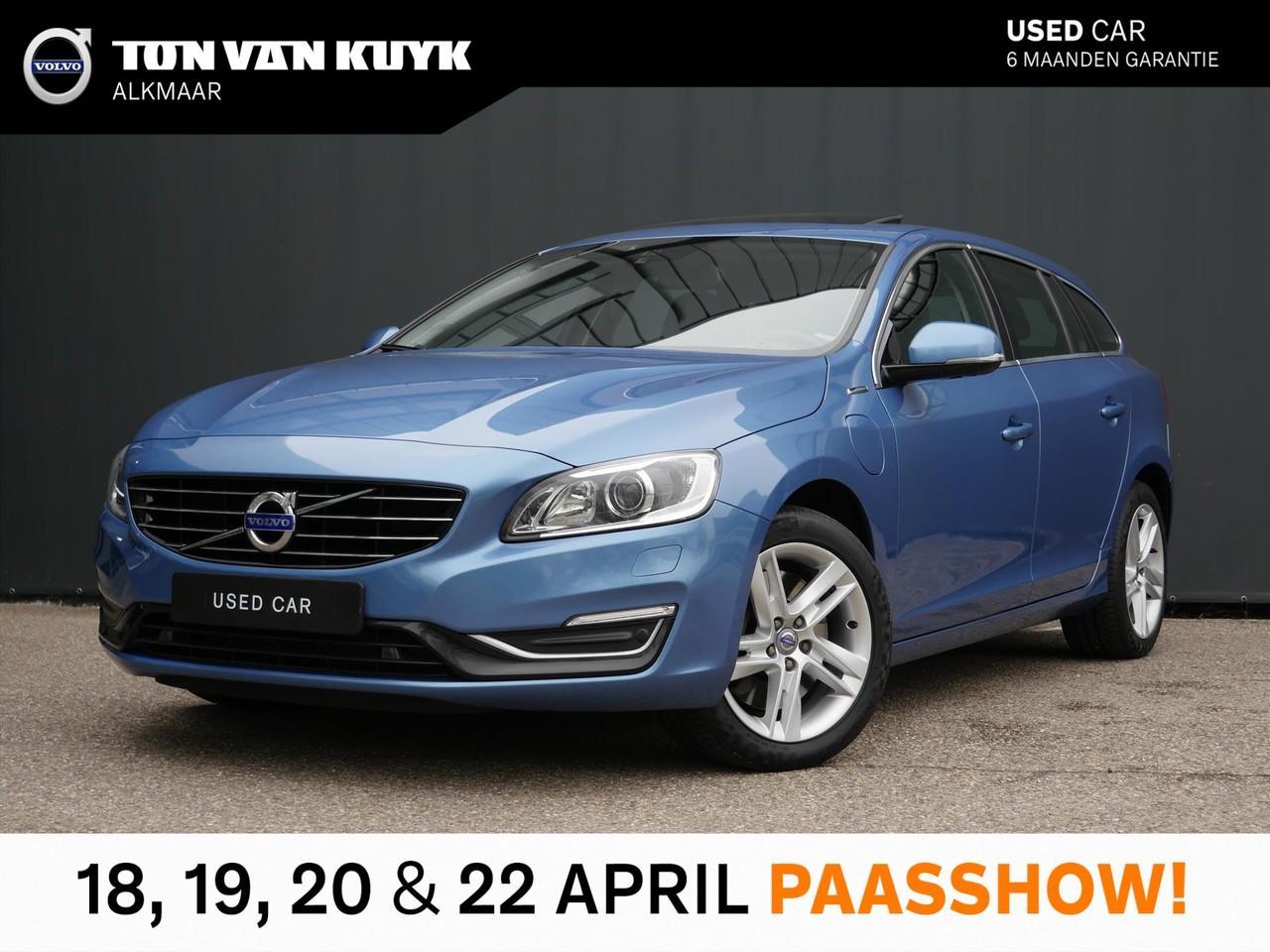 Volvo V60 D6 phev geartronic awd summum / open dak /trekhaak