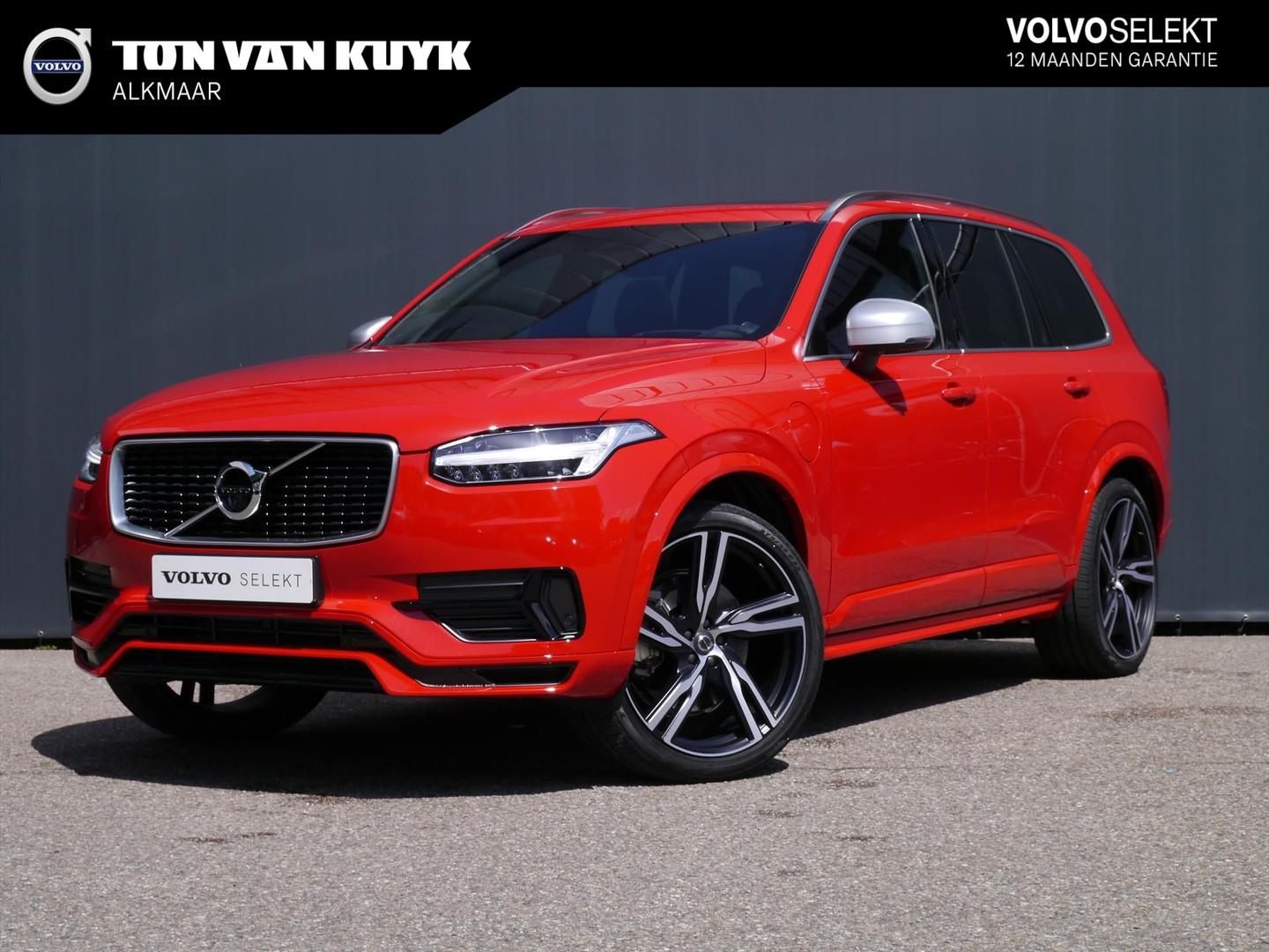 "Volvo Xc90 T8 twin engine r-design / passion red / 22"" / led"