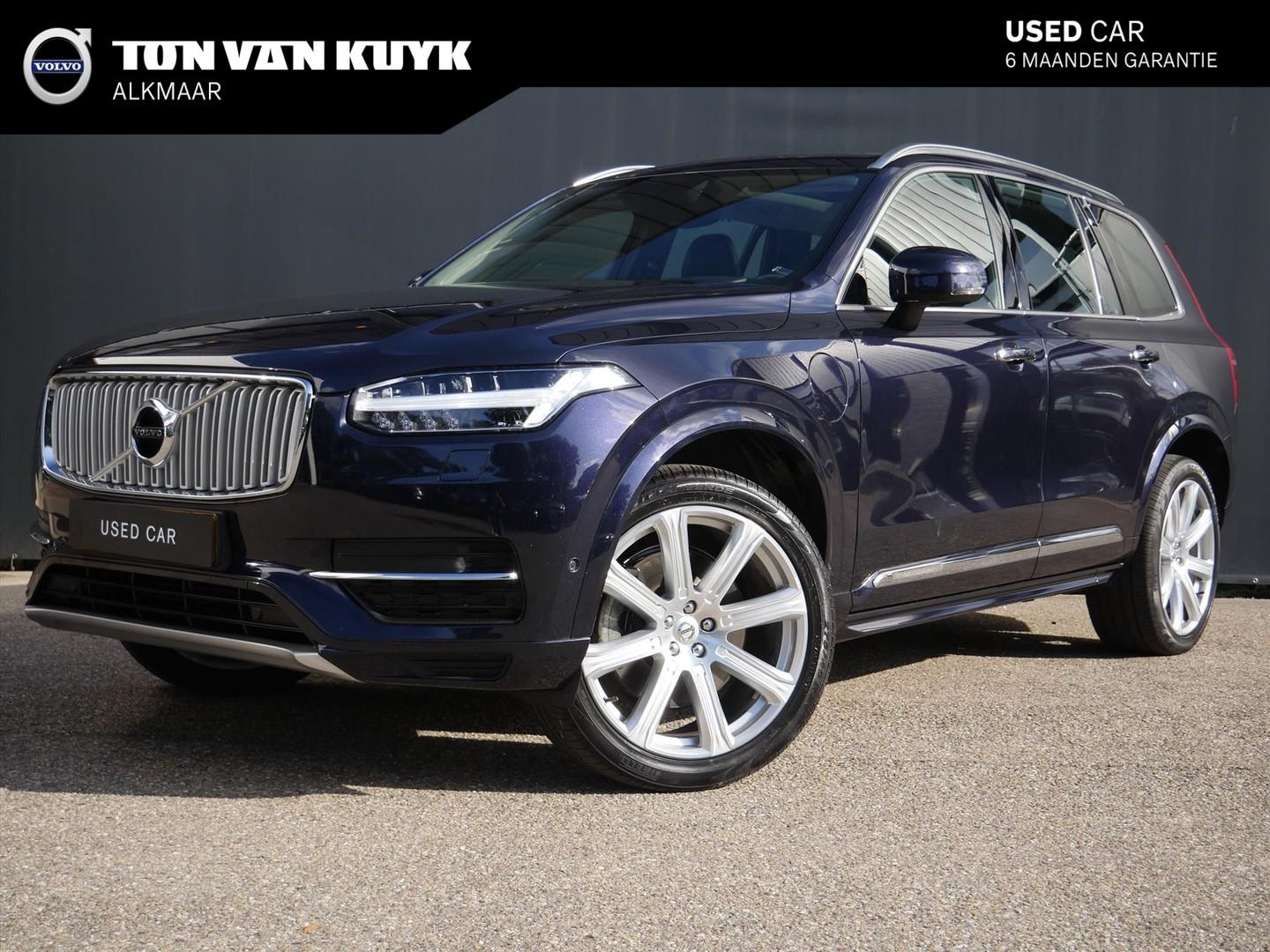 Volvo Xc90 T8 twin engine 7p awd inscription / b&w / luchtvering / luxury /
