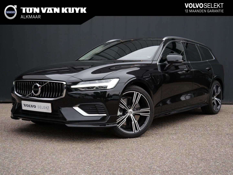 Volvo V60 T8 twin engine 404pk awd geartr inscription / styling kit / 19
