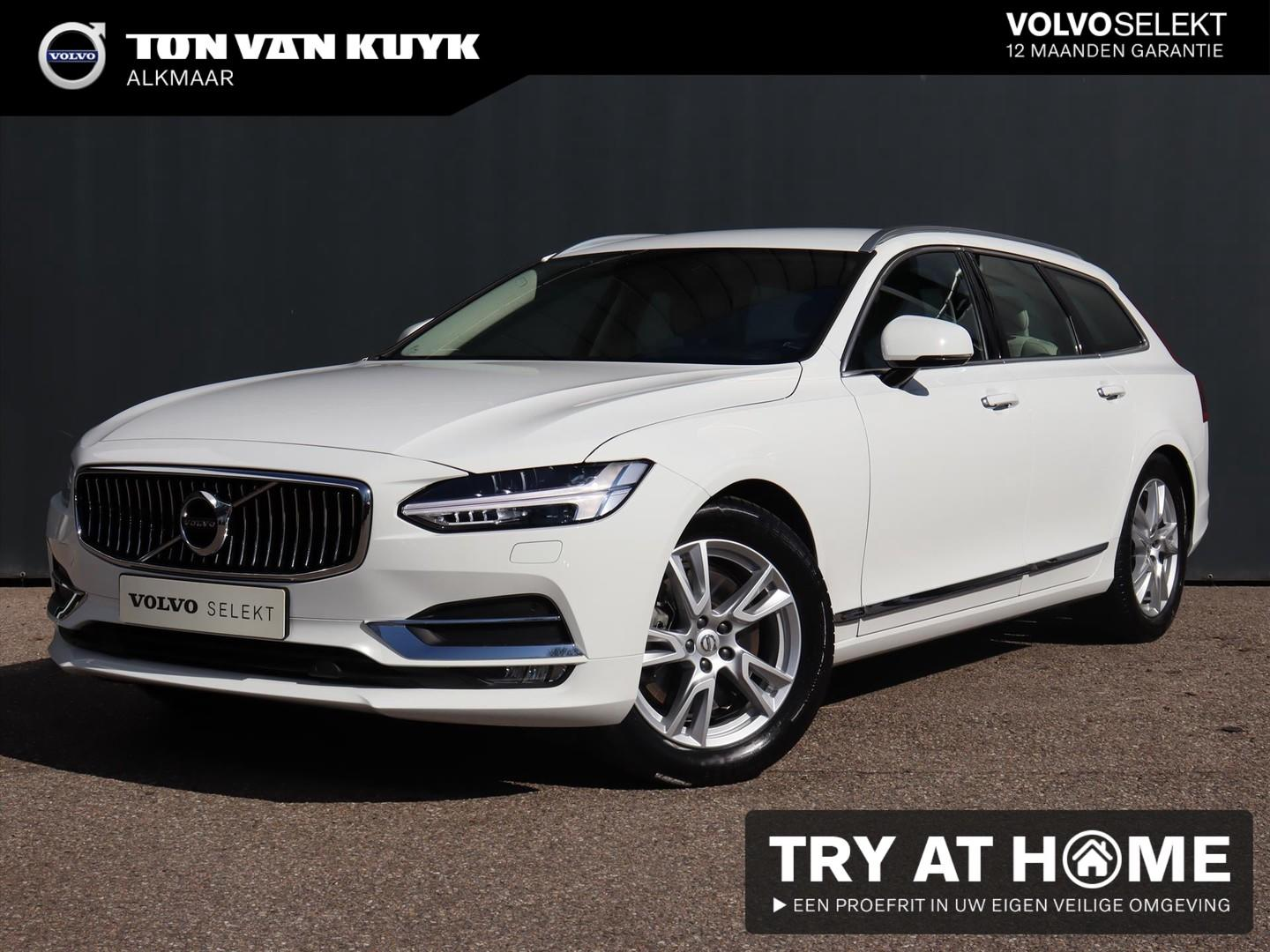 Volvo V90 T4 190pk automaat inscription / intellisafe / winter / scandinavian line / trekhaak