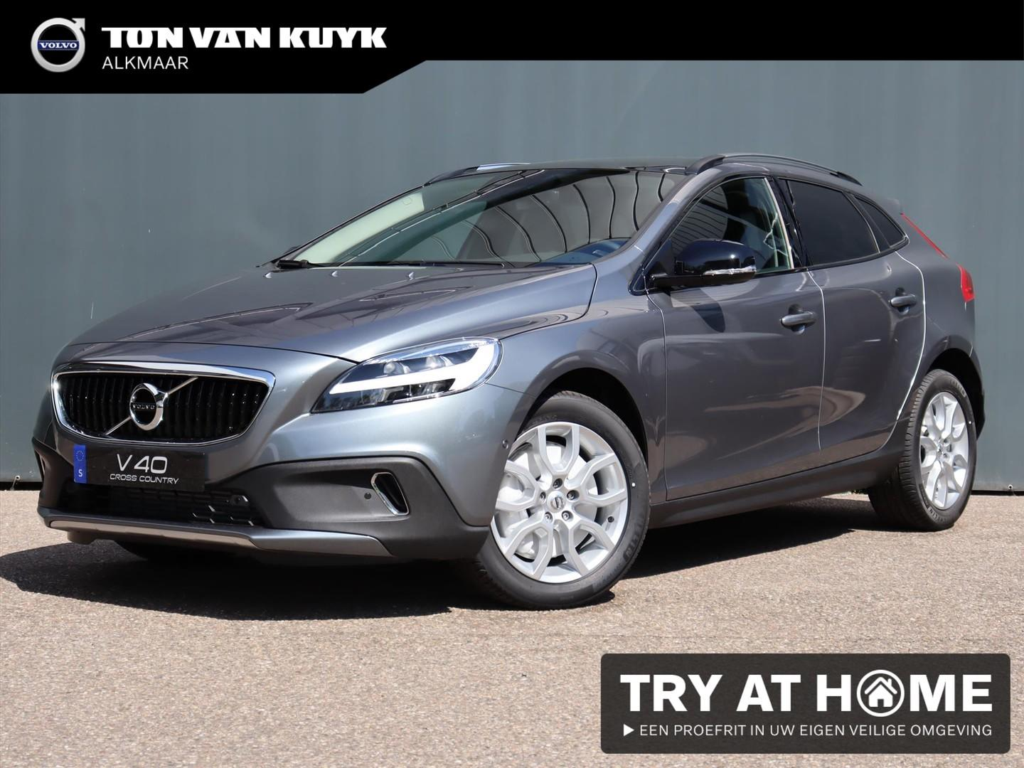 Volvo V40 cross country T3 152pk aut. polar+ luxury / leder / standkachel
