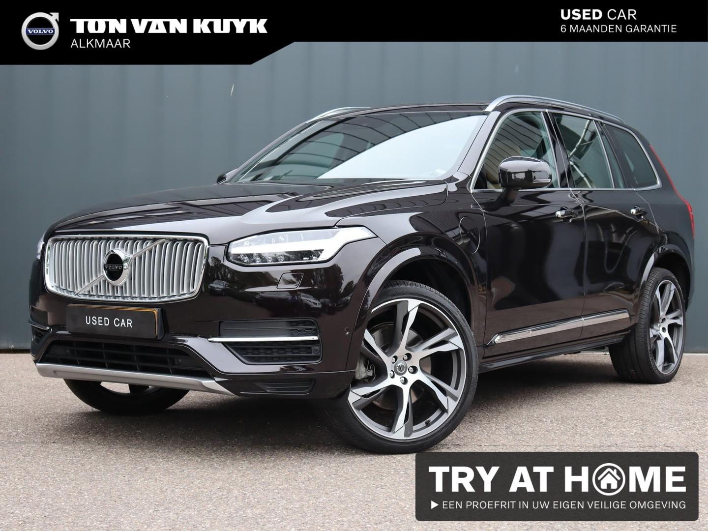 Volvo Xc90 T8 twin engine 400pk inscription / luchtvering / bowers & wilkins / stoelkoeling / 22'' inch