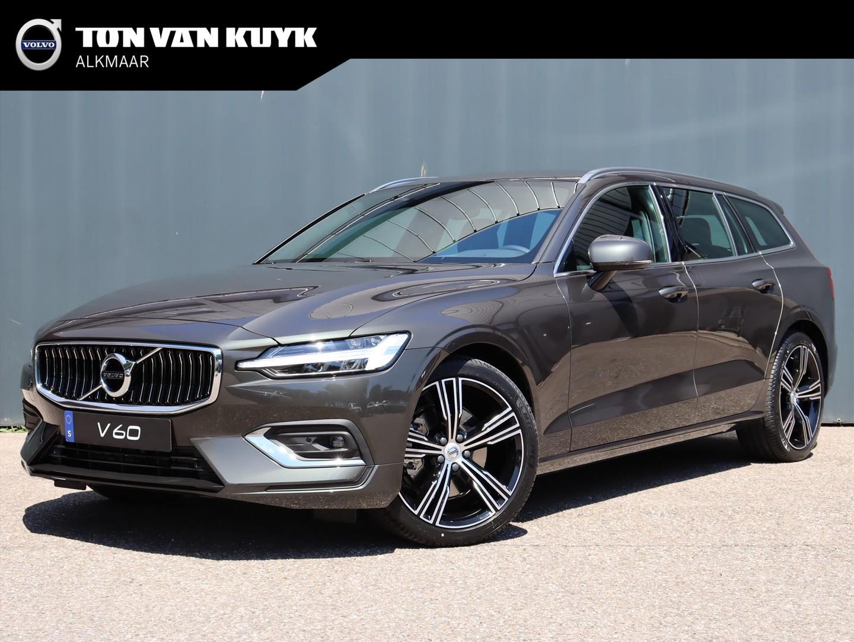 Volvo V60 B3 163pk aut. mild hybrid inscription / park assist / verwarmbare voorruit / 19'' inch / intellisafe / leder / draadloos opladen telefoon /