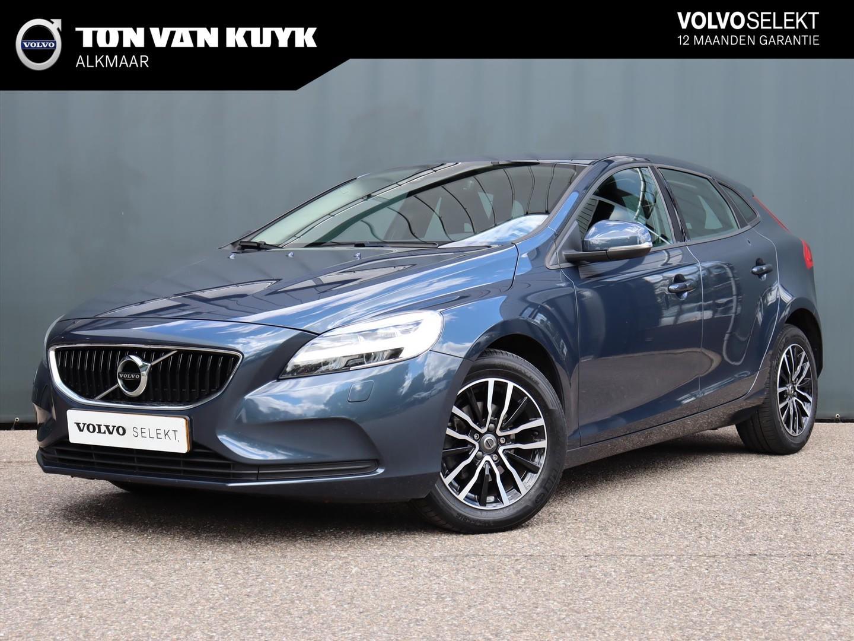 Volvo V40 2.0 d2 120pk nordic+ / leder / standkachel / led