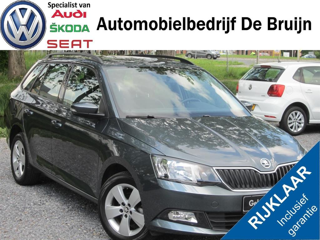 Škoda Fabia Combi 75pk (lm,airco,bluetooth,multi-stuur)