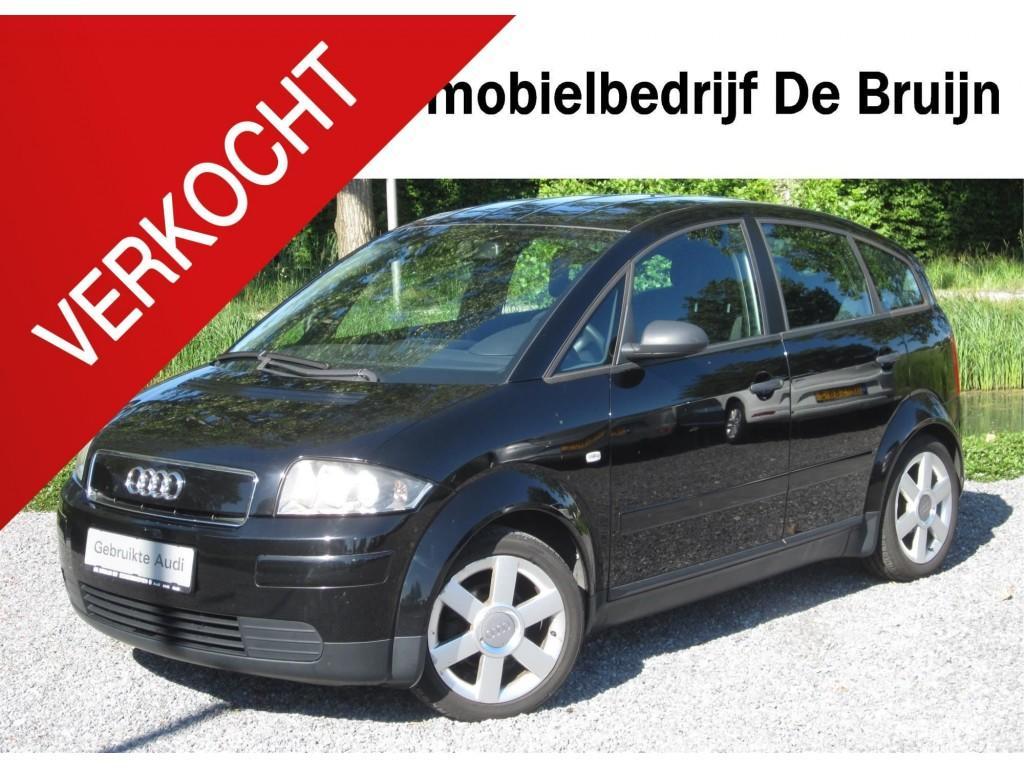 Audi A2 1.4 75pk (lm, radio)