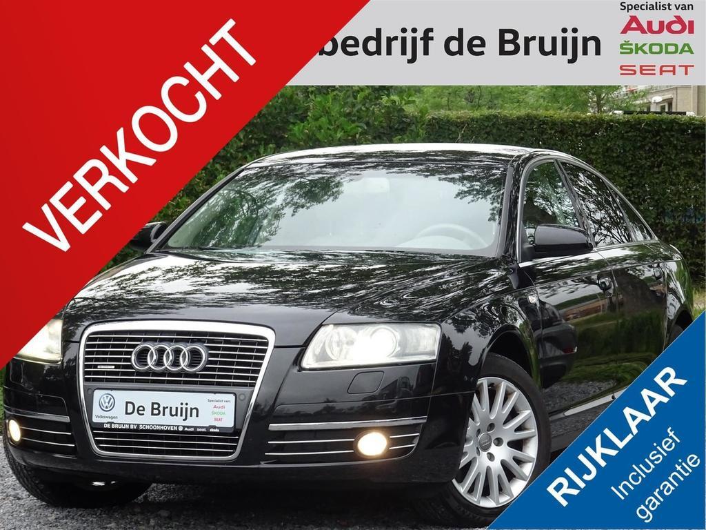 Audi A6 4.2 v8 350pk quattro aut. (leer,navi,clima,pdc)