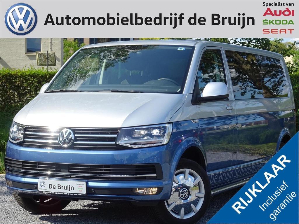 Volkswagen Transporter 150pk dsg lwb highline twotone (navi,leer,led,disc velgen)