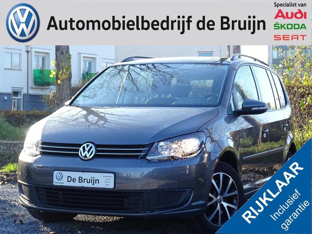 Volkswagen Touran 1.4 tsi 140pk dsg 7-zits (navi,trekhaak,clima)