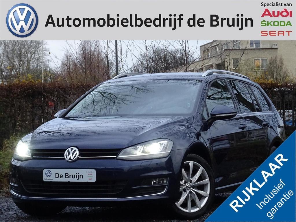 Volkswagen Golf Variant highline 1,4 tsi dsg 125pk (ergon.stoel,navi,clima,lm,pdc)