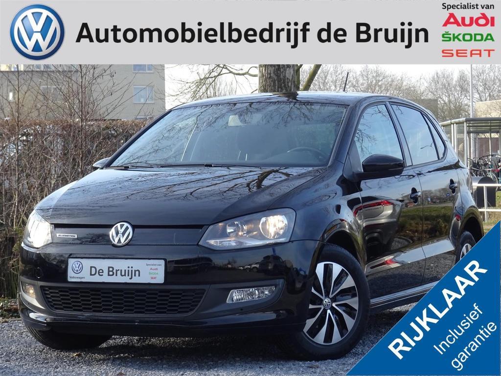 Volkswagen Polo Bluemotion tsi 95pk 5d (navi,lm,cruise,bluetooth)