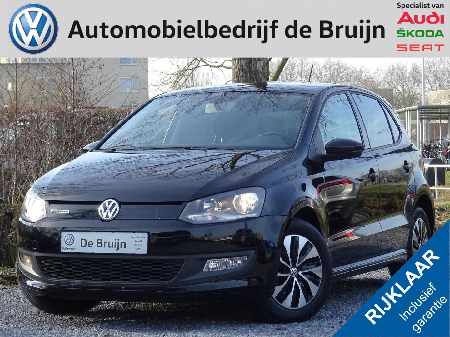 Volkswagen Polo Bluemotion tsi 95pk 5d (navi,lm,cruise,bluetooth)