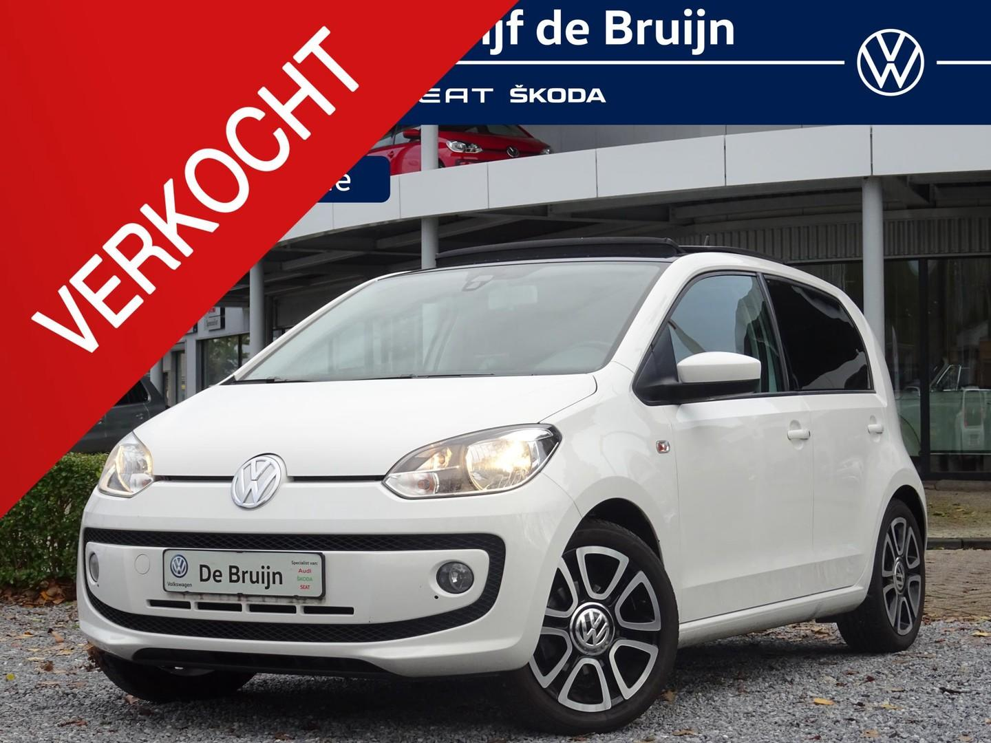 Volkswagen Up! White up! 5d (panorama,leer,navi,pdc,cruise)