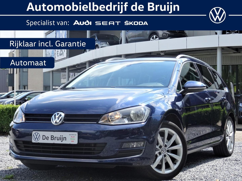 """Volkswagen Golf Variant highline 1,2 tsi 105pk dsg (navi,17""""lm, parkassist)"""