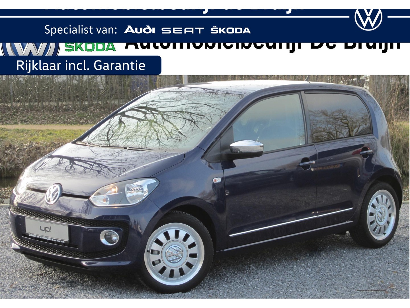 Volkswagen Up! High up! 75pk 5d (navi,lm,pdc,cruise)