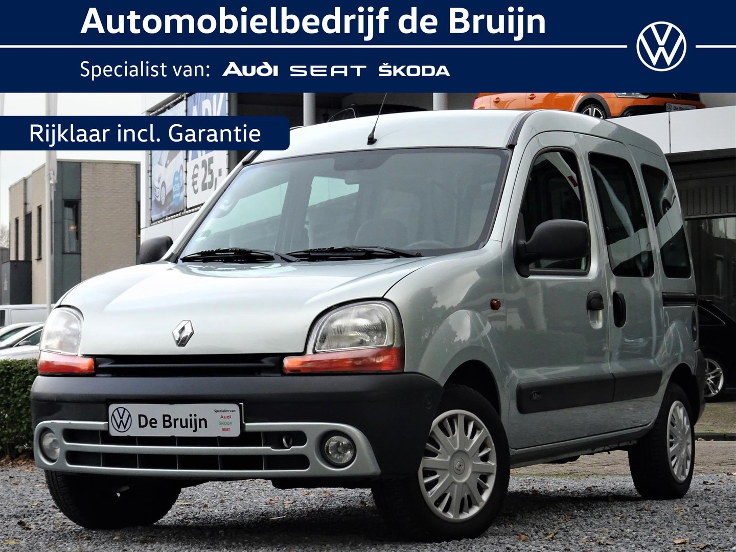 Renault Kangoo 1.2-16v expression (in consignatie) (rolstoelsysteem,radio,airco)