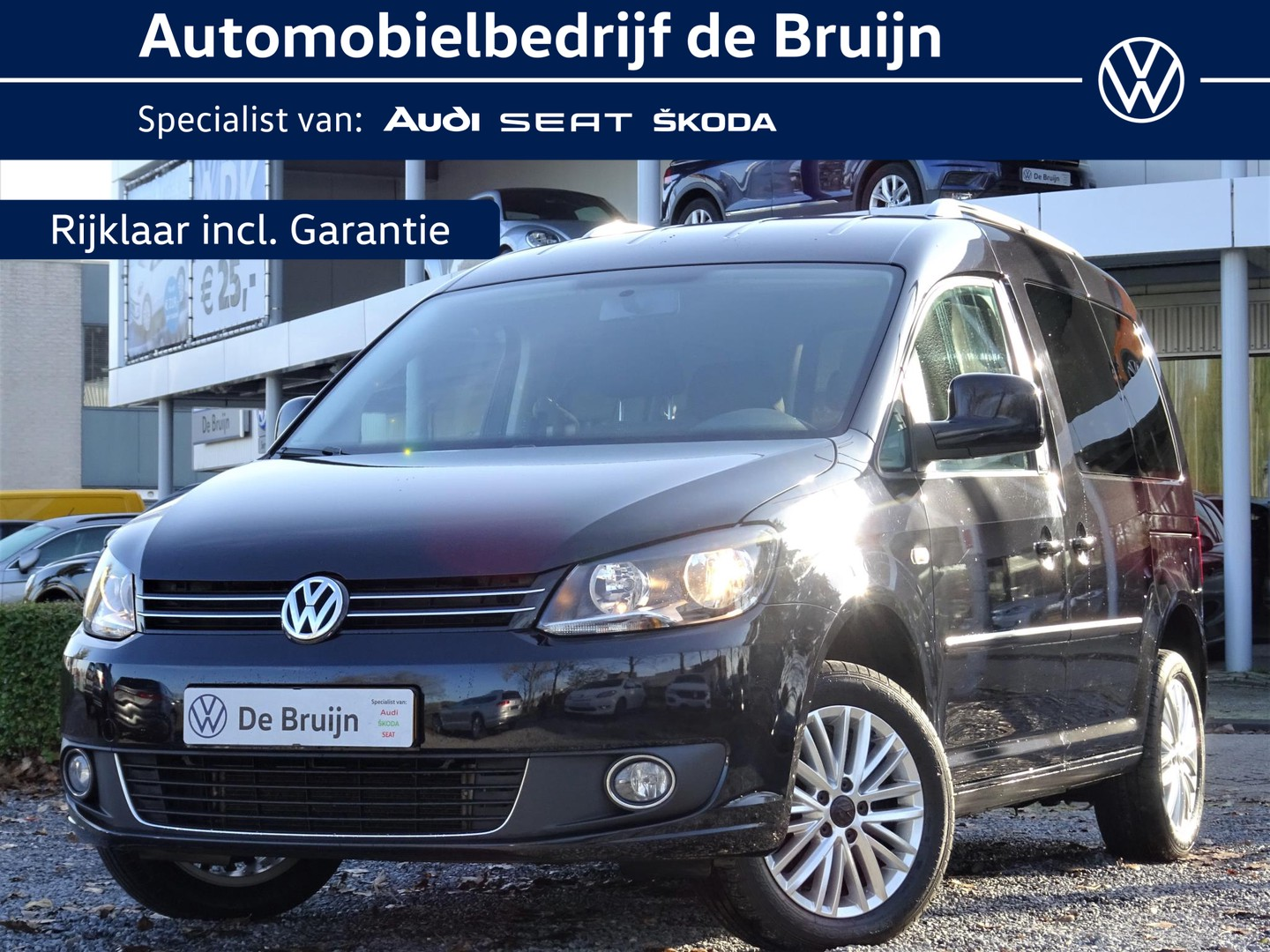 Volkswagen Caddy 1.2 tsi 105pk cup (lm,trekhaak,pdc)
