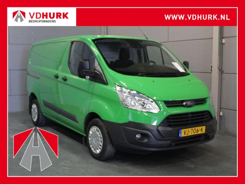 Ford Transit custom 270 2.2 tdci 126 pk full options!! 2xschuifdeur/camera/cruise/lane assist/pdc v+a