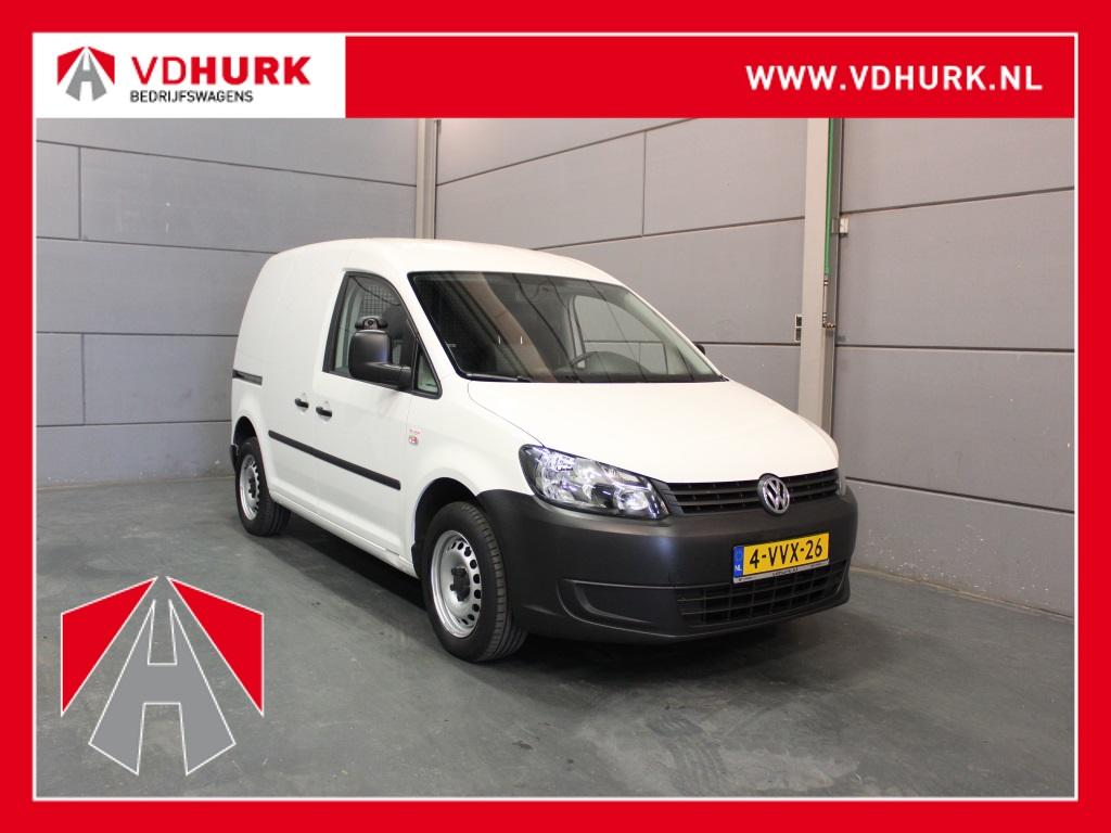 Volkswagen Caddy 2.0 ecofuel cng navigatie/trekhaak/cng
