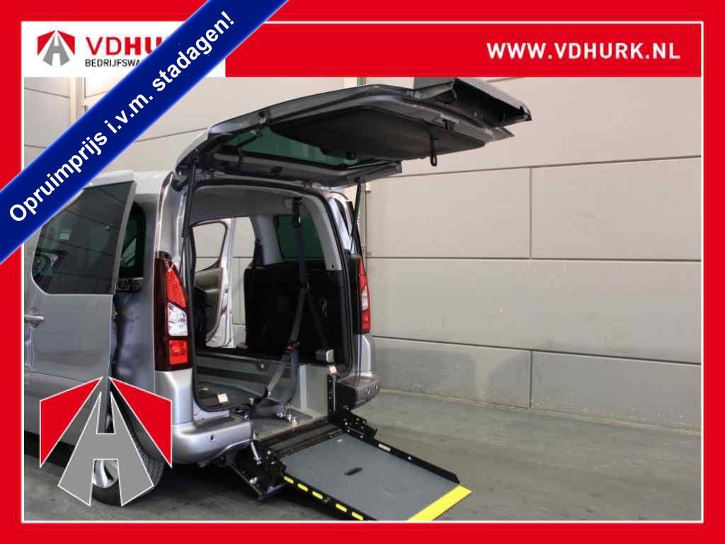 Citroën Berlingo Rolstoelvervoer 1.6 hdi lage wegenbelasting! rolstoel invalide/rolstoelvervoer 17.000 km! airco/cruise/pdc/invalide/rolstuhlrampe