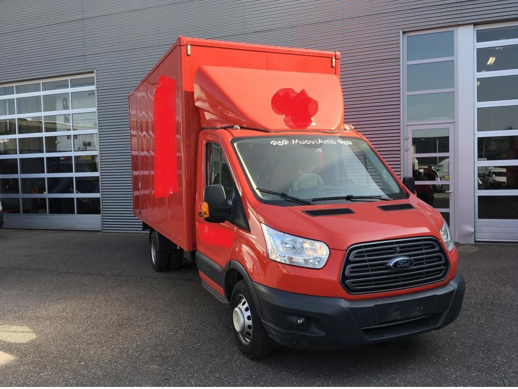 Ford Transit 2.0 tdci 131 pk bakwagen 430x211x230 meubelbak dubbel lucht/airco/cruise