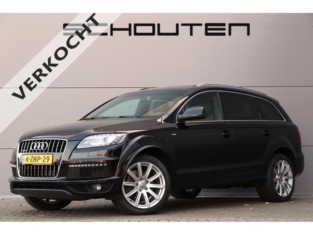 Audi Q7 3.0 tdi pro line s 7-pers pano luchtvering 20''
