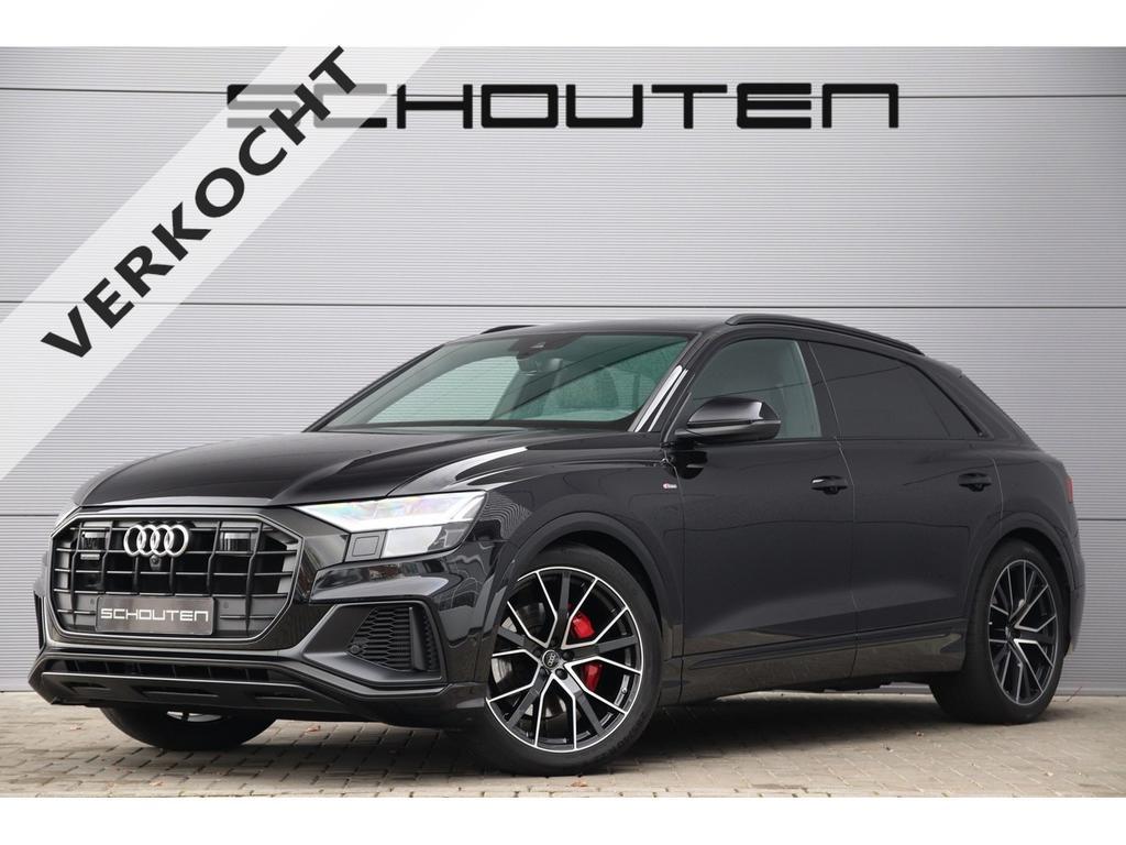 Audi Q8 50 tdi quattro s-line pano matrix black pack 22''